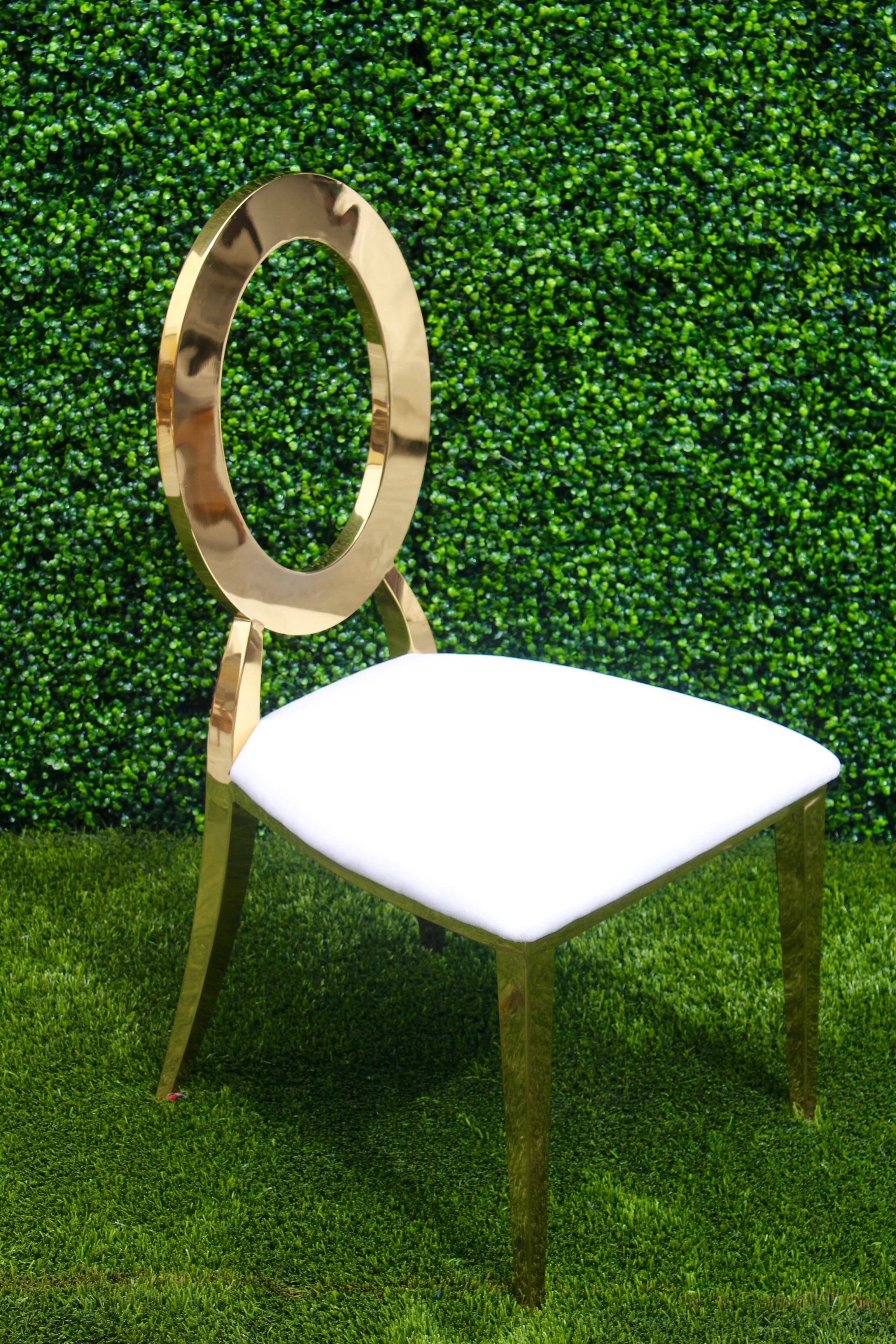 Dior Chair (Gold)