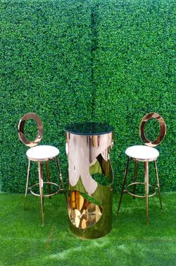 Lola Cocktail Table w/ Dior Barstool