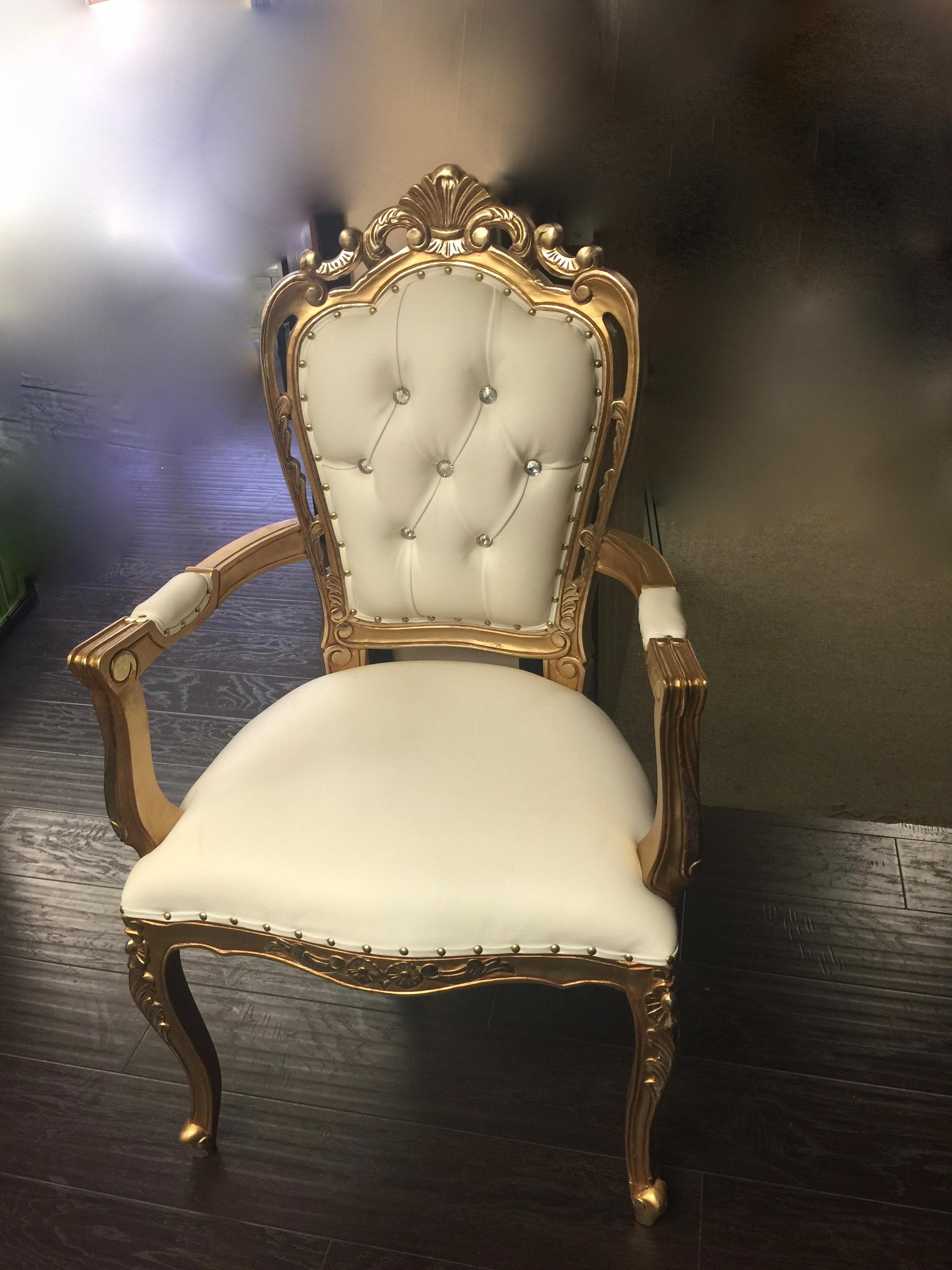 Gold Trim Chair