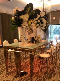 Chanel Bar Height Table