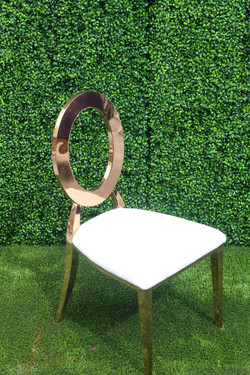 Dior Chair (Rose Gold)