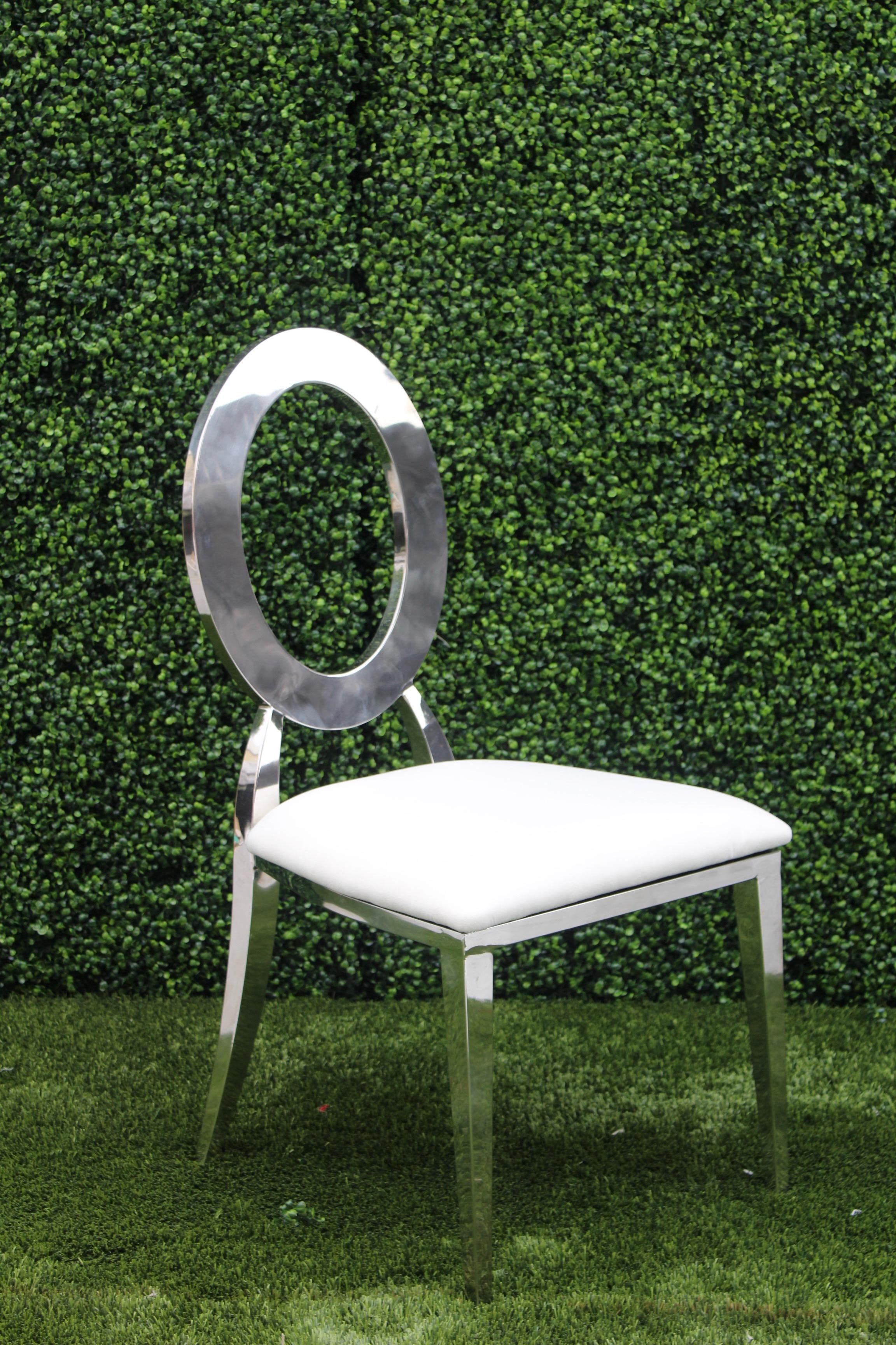 Dior Chair (Silver)