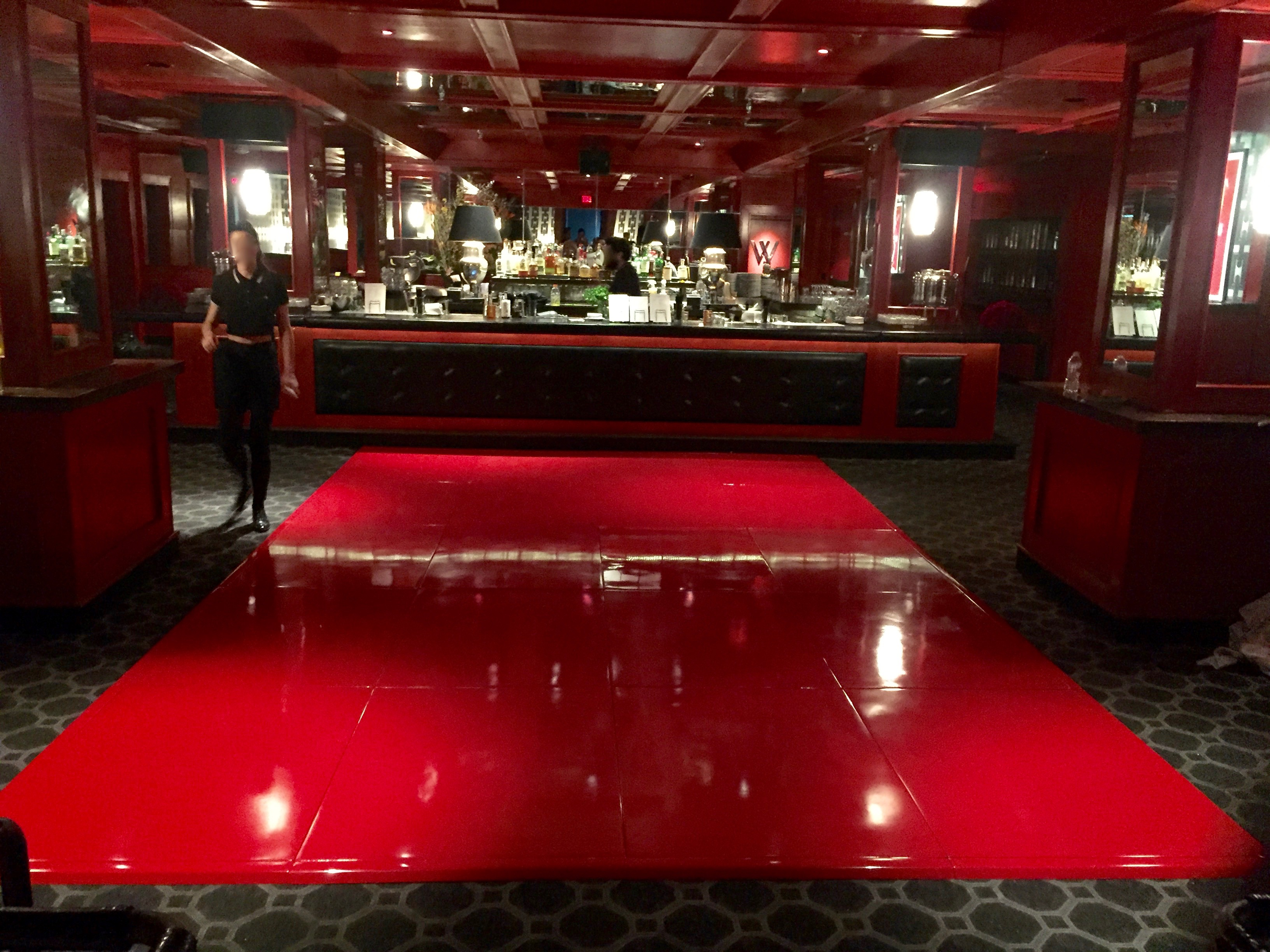 Red Seamless Dance floor