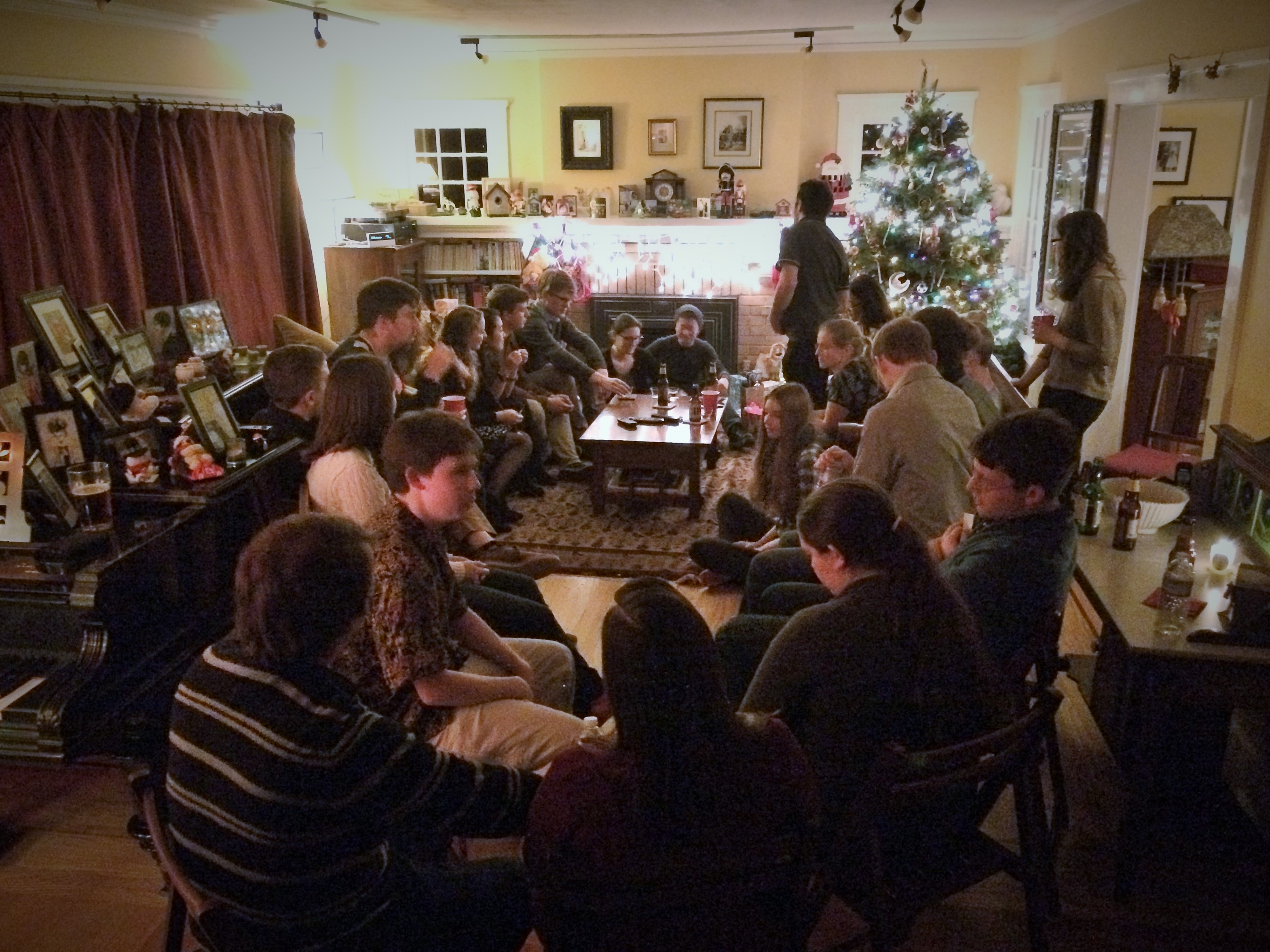 Arnold group party Dec 2014.jpg