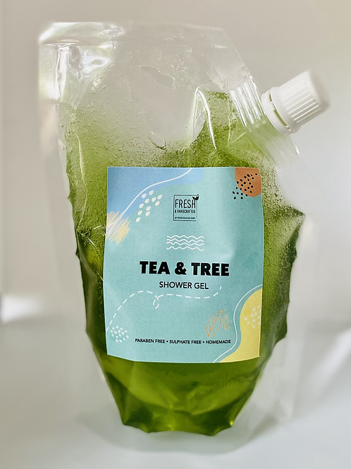 Tea Tree Handmade Shower Gel