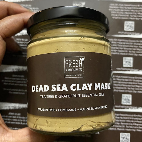Dead Sea Clay Hydrating Pack