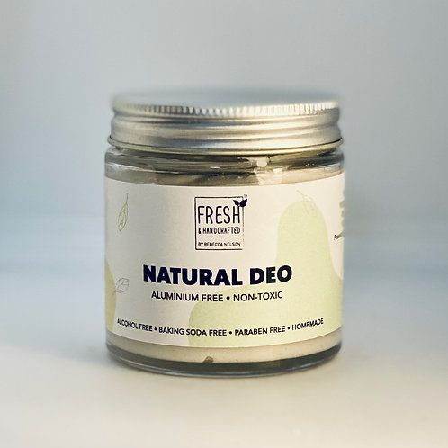 All Natural Deodorant -Woody Apple