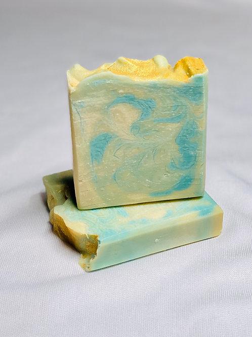 Pineapple & Coconut Handmade Soap