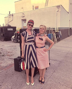 Happy Memorial Day 🇺🇸 ❤️ from The Beehive Blondes ._._Here we are arriving at _dramandmorsel for o