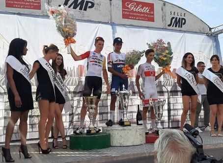 Buitrago (team Cinelli) sulle tracce di Nibali vince a Lamporecchio (PT)