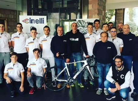 Primo ritiro collegiale per il Team Cinelli.