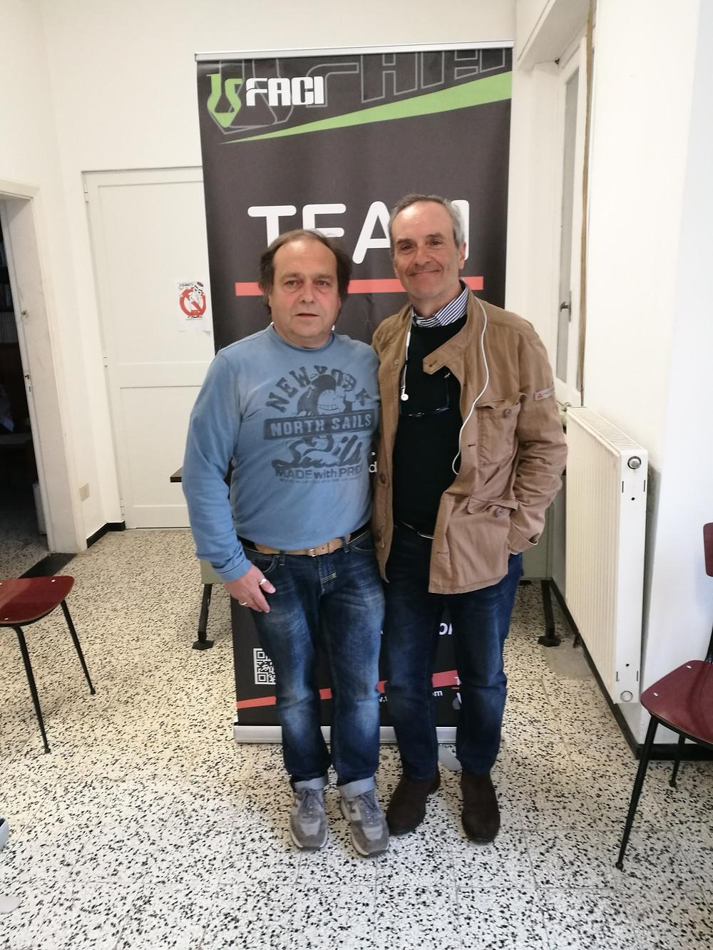 Luciano Gori e Gian Paolo Cioccolo