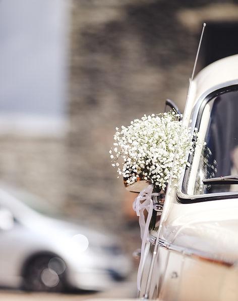 déco voiture wedding