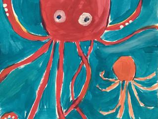 Sea Creature Paintings