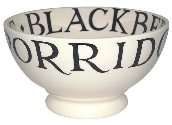 Black Toast French Bowl