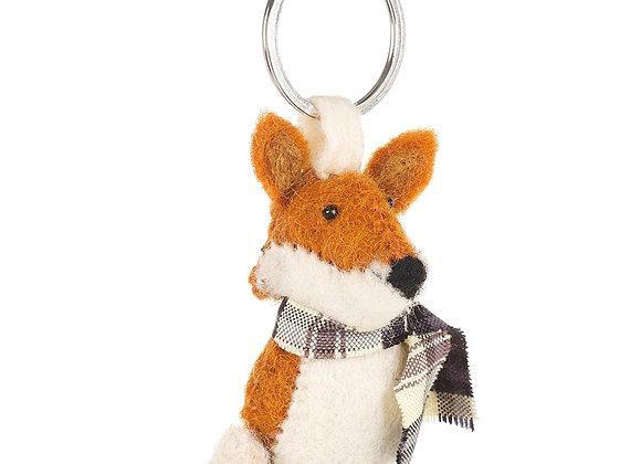 Cosy Fox Keyring