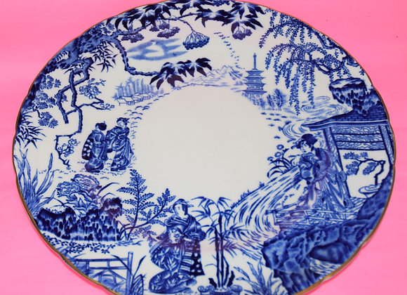 Royal Crown Derby 'Mikado' Dinner Plate