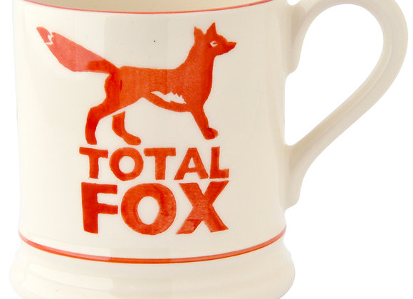 Total Fox 1/2 Pint Mug