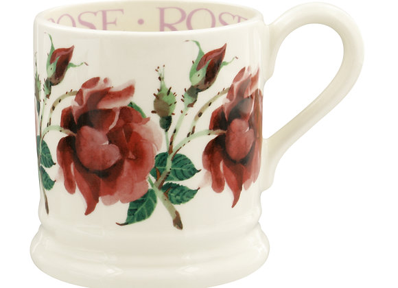 Red Rose 1/2 Pint Mug