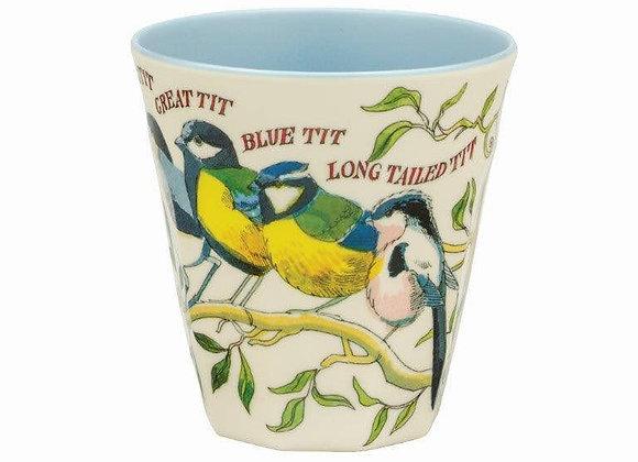 Emma Bridgewater Melamine Beaker Garden BirdsB