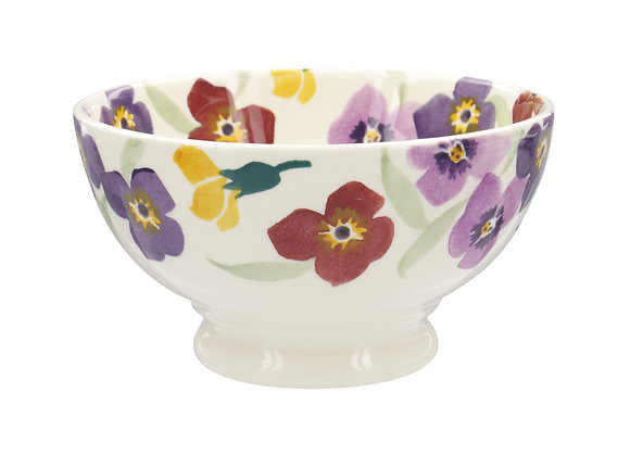 Purple Wallflower French Bowl
