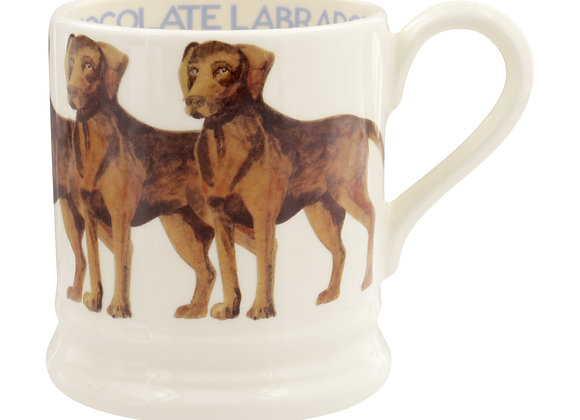 Chocolate Lab 1/2 Pint Mug