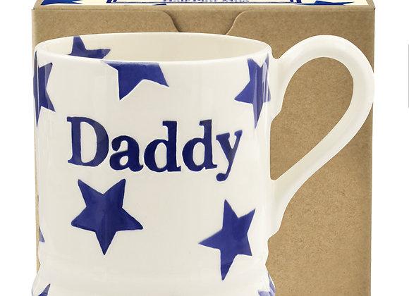 Blue Star 'Daddy' 1/2 Pint Mug