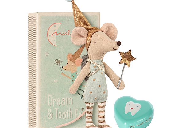 Tooth Fairy Big Brother Mouse In Matchbox