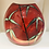 Thumbnail: Poole Pottery Purse Vase in Bamboo Pattern
