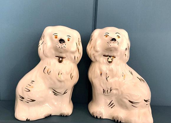 Vintage Beswick Spaniels - pair