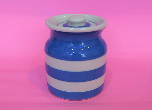 TG Green Blue and White Jar
