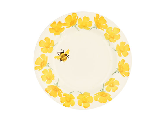 Buttercup & Bee 6 1/2 Inch Plate