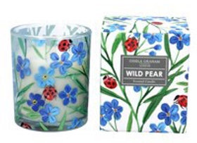 Gisela Graham WIld Pear Scented Candle