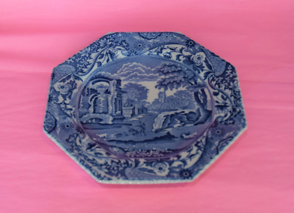 Vintage 1920's Spode Wiillow Patterned Plate