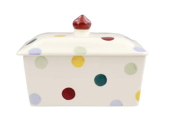 Polka dot Butter Dish