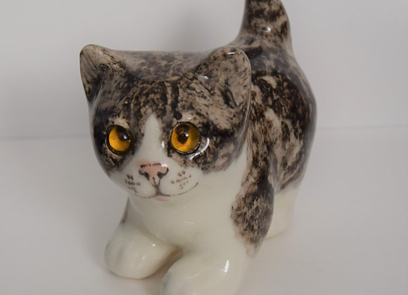 Winstanley Pottery Kitten Glass Eyes
