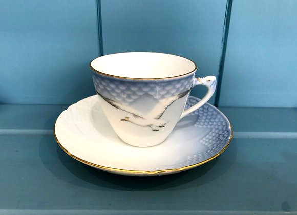 Royal Copenhagen Teacup and Saucer