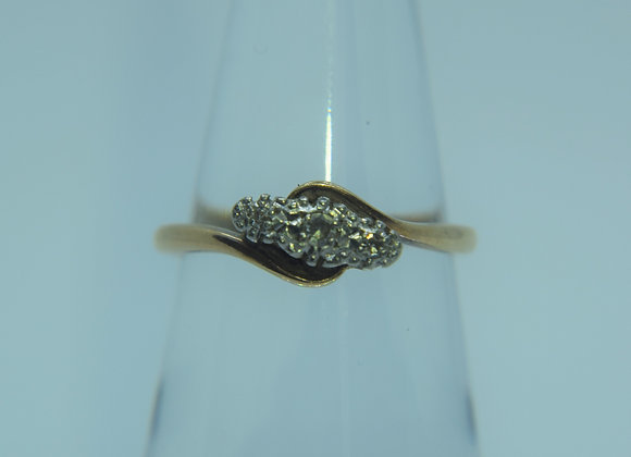 9ct Gold and Diamond