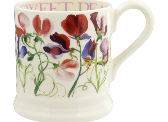 Sweet Pea Multi 1/2 Pint Mug