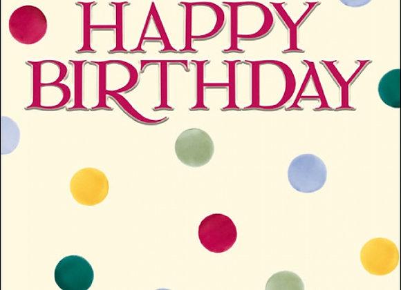 Emma Bridgewater Birthday Card