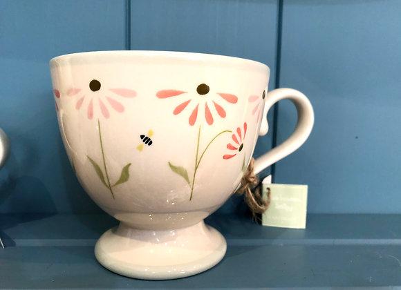 Susie Watson Echinacea Large Mug
