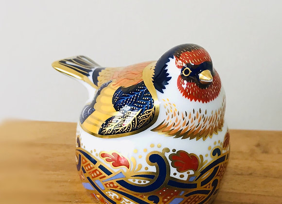 Royal Crown Derby Goldfinch Nesting 1996