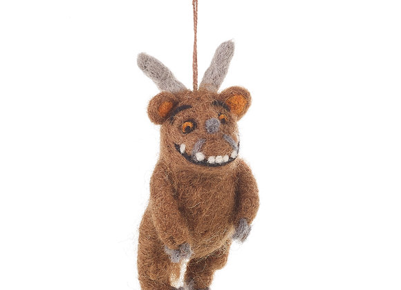 Handmade Felt Hanging Grizzle/ Gruffalo Biodegradable Decoration