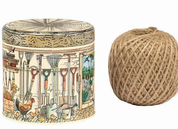 Emma Bridgewater - Potting Shed String tin - with string