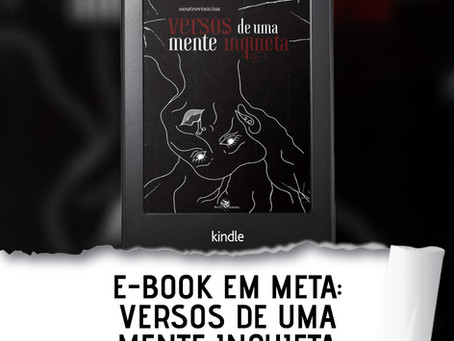 META E-BOOK: VERSOS DE UMA MENTE INQUIETA