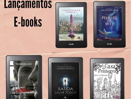 Lançamentos e-books