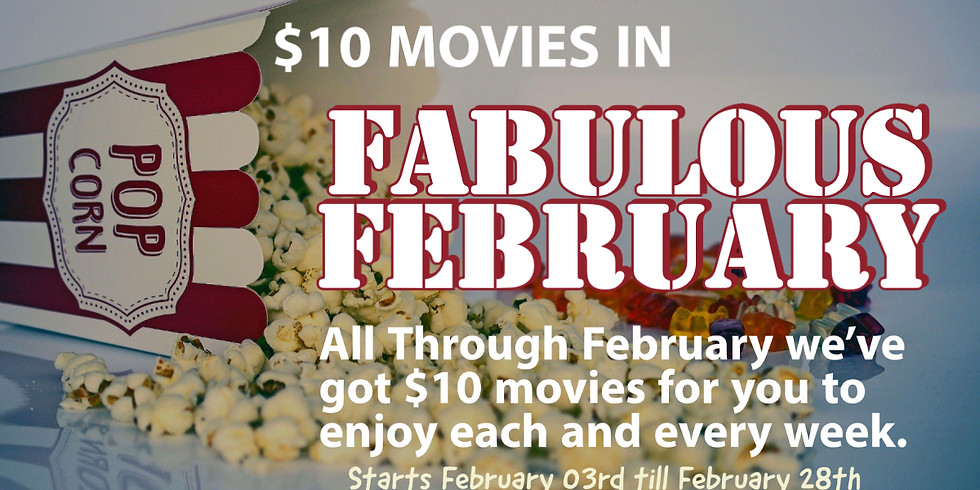 $10 Movies all February