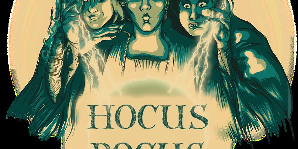 HOCUS POCUS here for HALLOWEEN WEEKEND