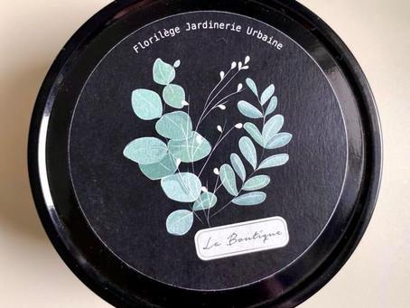 Illustration d'une étiquette de bougie