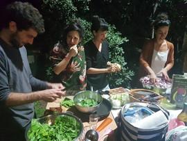 מטבח שטח באינטנסיב אימפרוביזציה של אלונה פרץ מרץ 2018